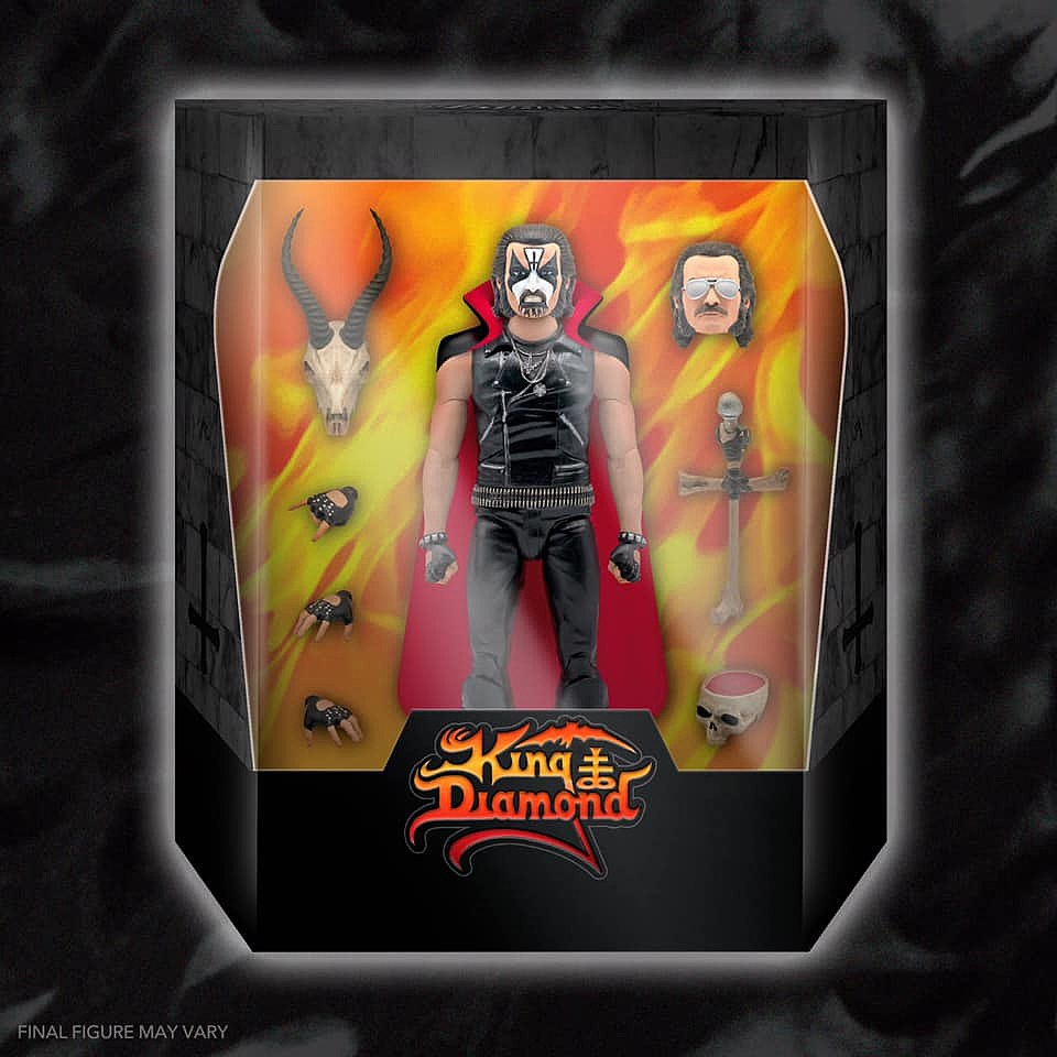 King Diamond Super7 Figure