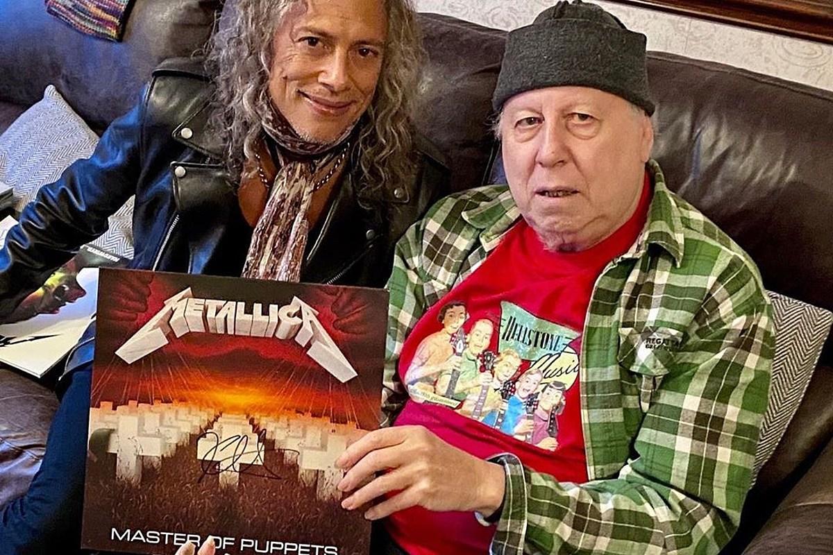 Watch Metallica's Kirk Hammett cover Peter Green's Fleetwood Mac + 2 tribute albums coming