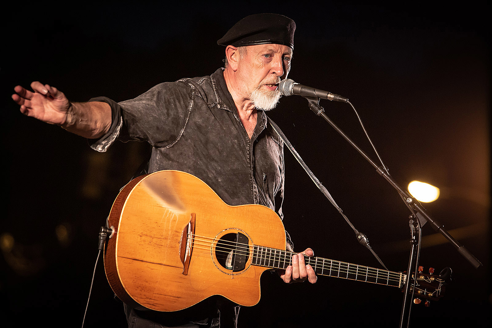 Richard Thompson played a free, socially distant outdoor show in NJ (pics,  setlist, video)
