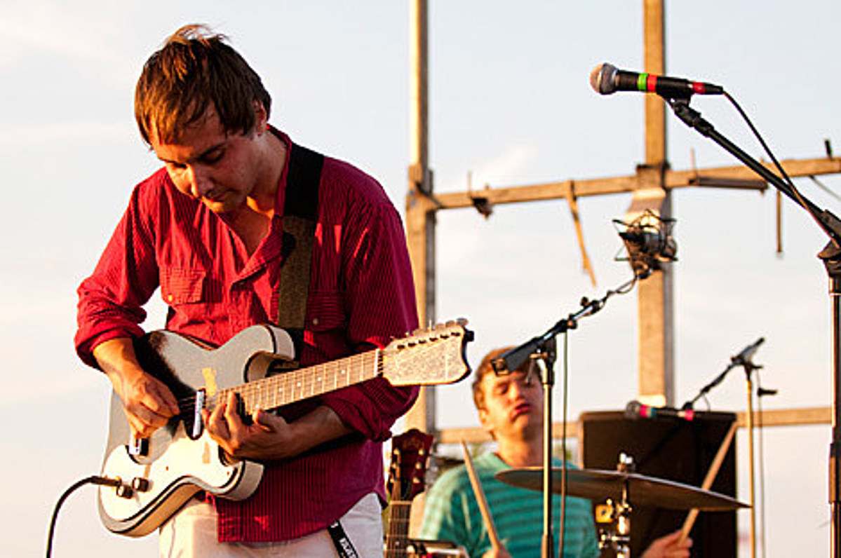 Watch Grizzly Bear's 2009 KCRW session & check out pics of that year's Williamsburg pool party