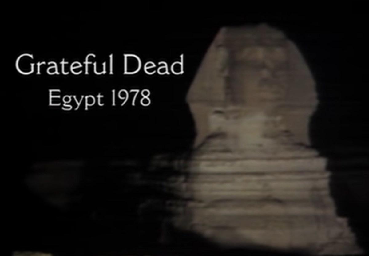 Watch Grateful Dead's 1978 Egypt concert, short film, & Mickey Hart discussing it