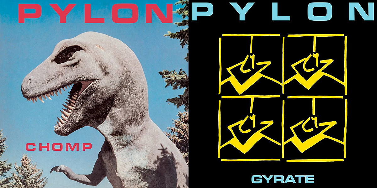 Pylon releasing limited edition color vinyl — WIN 'Chomp' AND 'Gyrate'