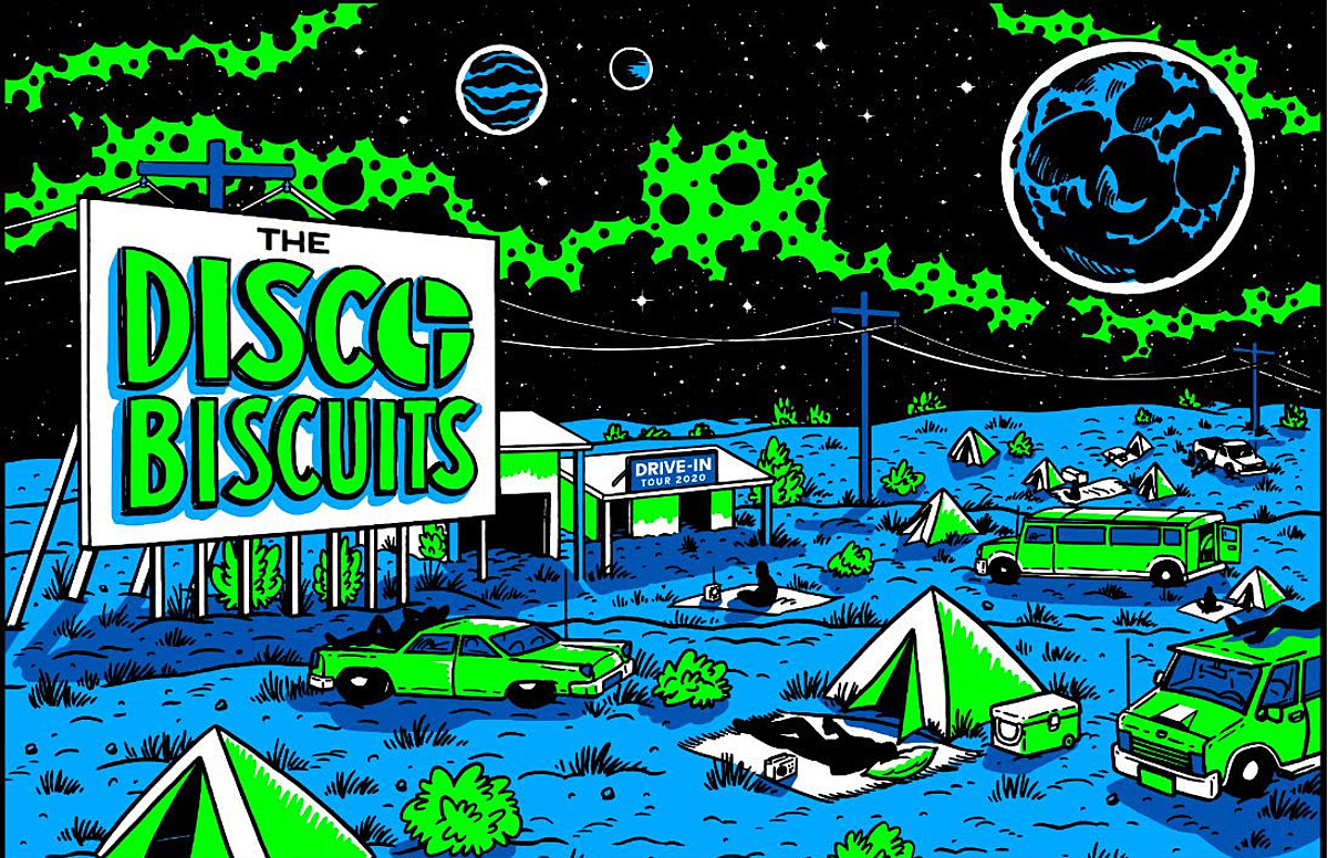 Disco Biscuits Halloween 2020 The Disco Biscuits announce drive in tour, 3 night Halloween run