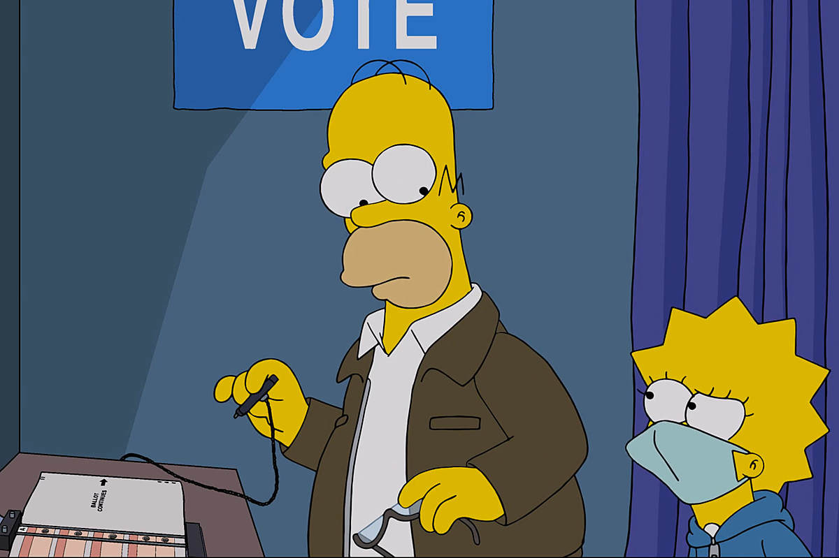 Watch The Simpsons Give 50 Reasons Re Electing Trump Would Be Very Very Scary
