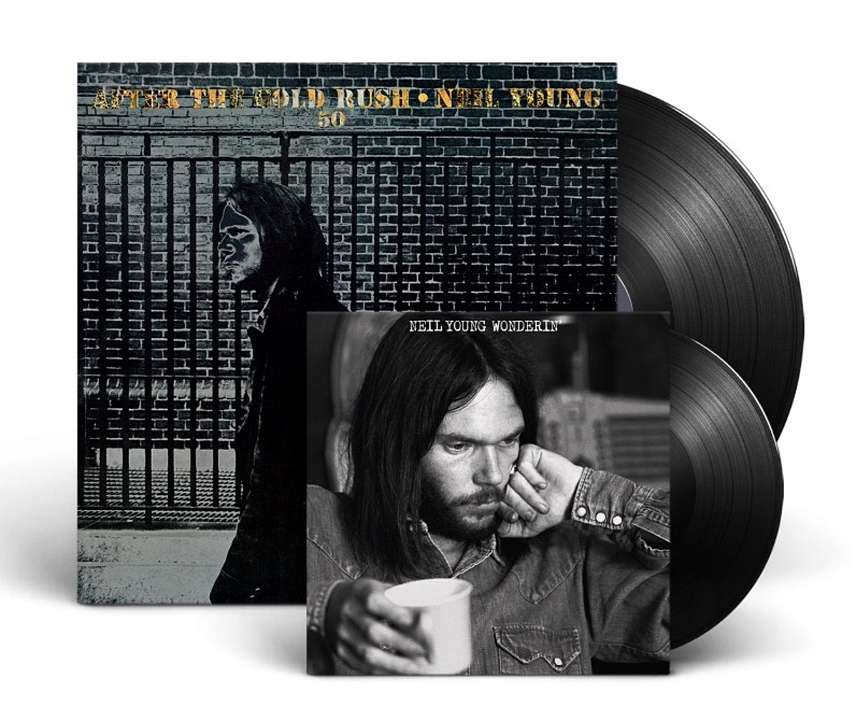 """Neil Young preps 'After the Gold Rush' 50th anniversary box, shares """"Wonderin'"""" alternate take"""