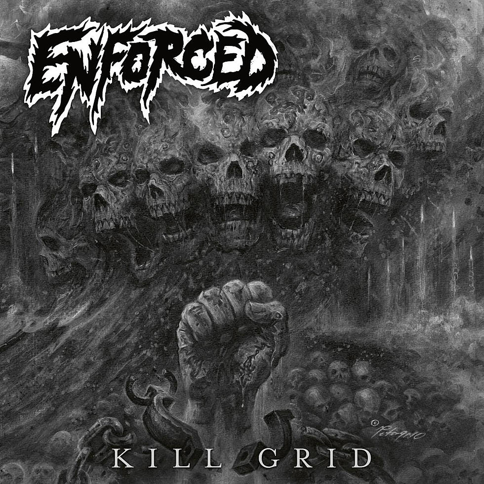 "Enforced share ""Hemorrhage"" off upcoming album 'Kill Grid'"