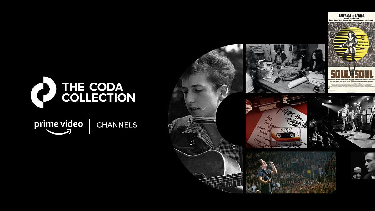 Amazon Prime launches 'Coda Collection' music documentary add-on channel