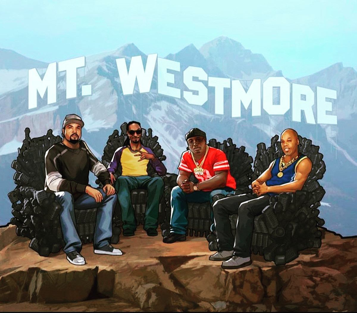 Snoop Dogg, Ice Cube, Too $hort & E-40s supergroup Mt. Westmore prep album & livestream
