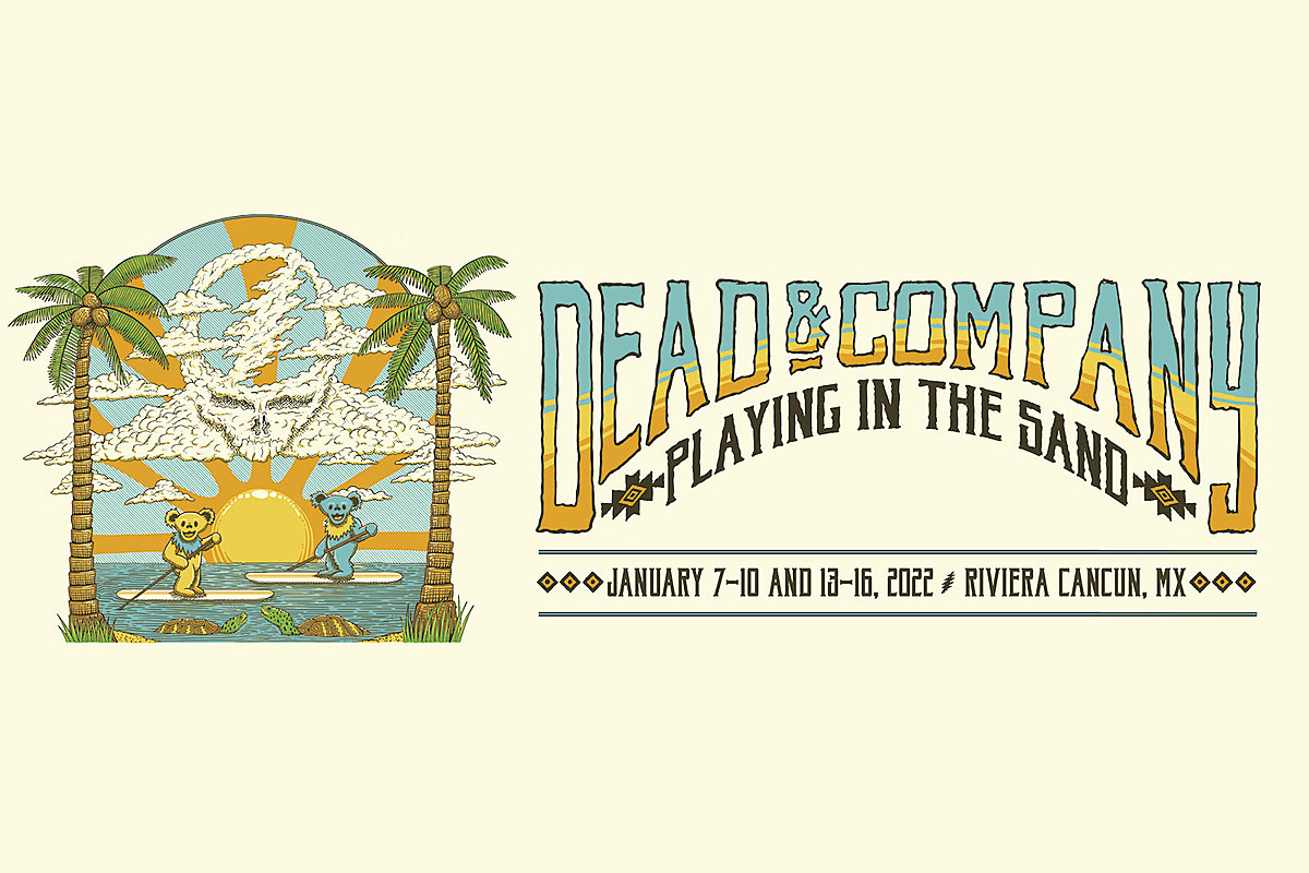 """Dead & Company add 2nd """"Playing in the Sand"""" concert vacation weekend"""