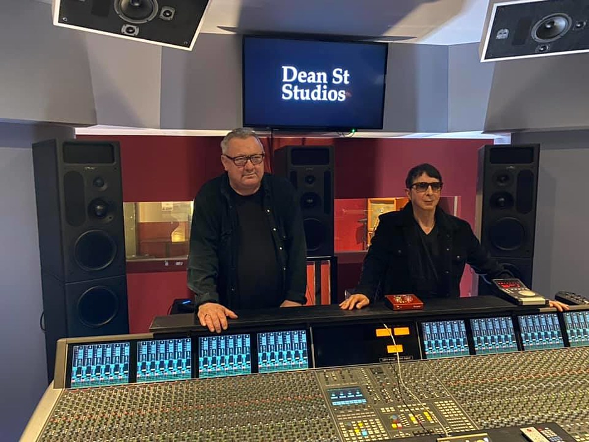 Soft Cell recording their first album in 20 years