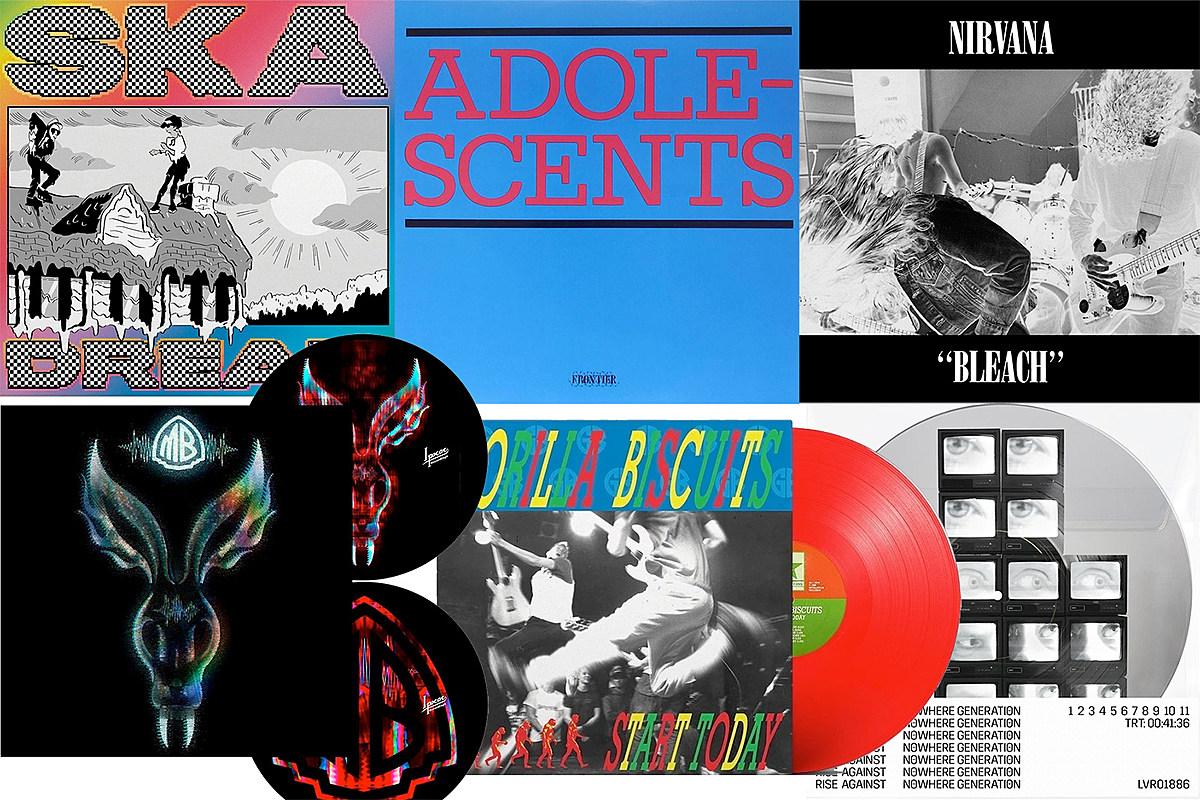 Vinyl for Sale: Nirvana, Adolescents, Gorilla Biscuits, Jeff Rosenstock, hip hop classics, Puscifer, more