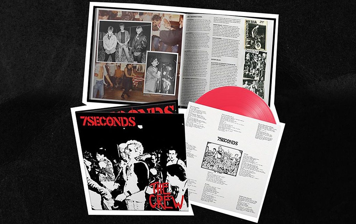 Pre-order our exclusive neon pink vinyl variant of 7Seconds' long-awaited 'The Crew' reissue!