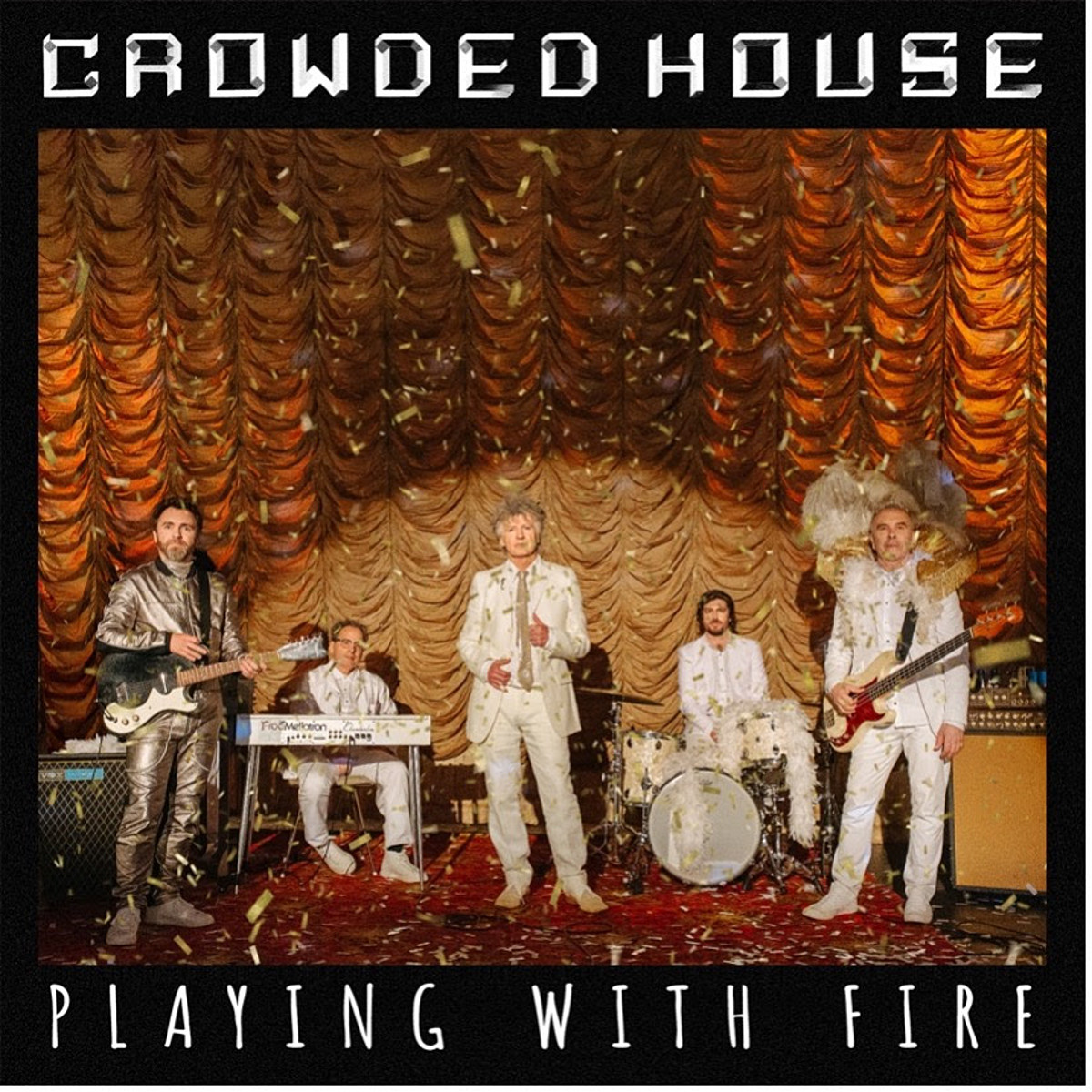 "Crowded House share ""Playing With Fire"" from first album in 12 years"