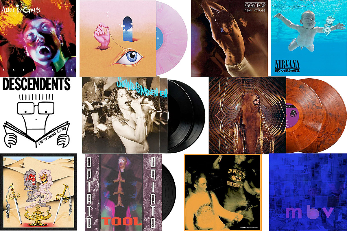 Vinyl for Sale: Tool, My Morning Jacket, Wavves, Alice in Chains, NIN, Descendents, Gulch, more