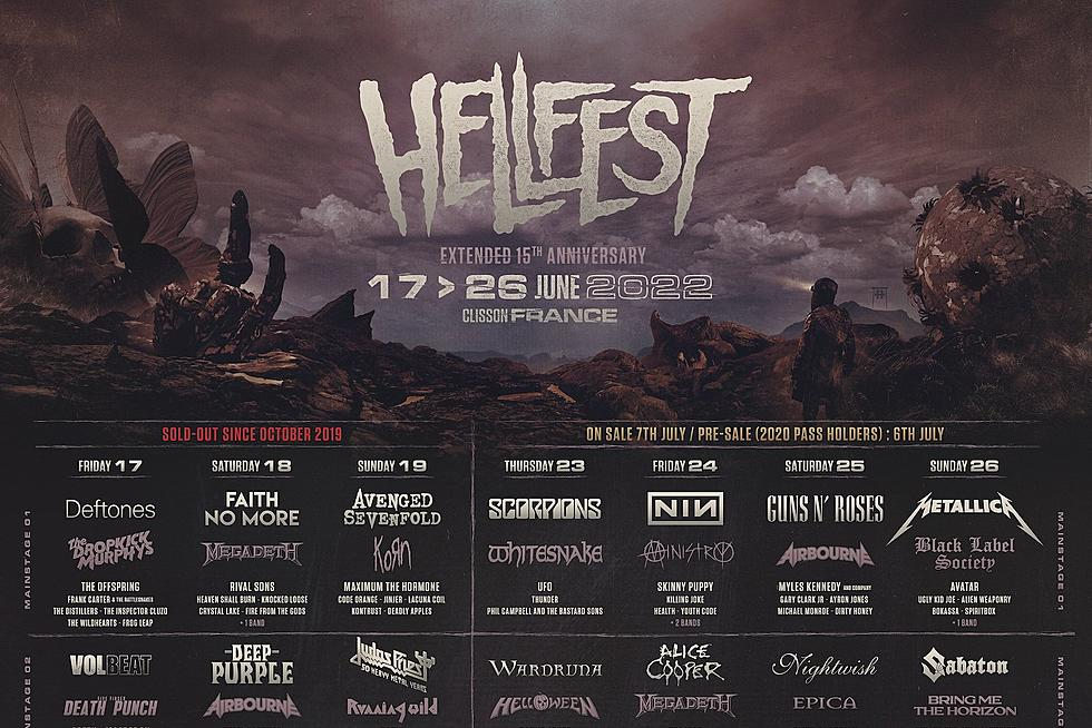 Hellfest 2022 lineup: Metallica, Nine Inch Nails, Judas Priest, Mercyful  Fate, Deftones, 300+ more