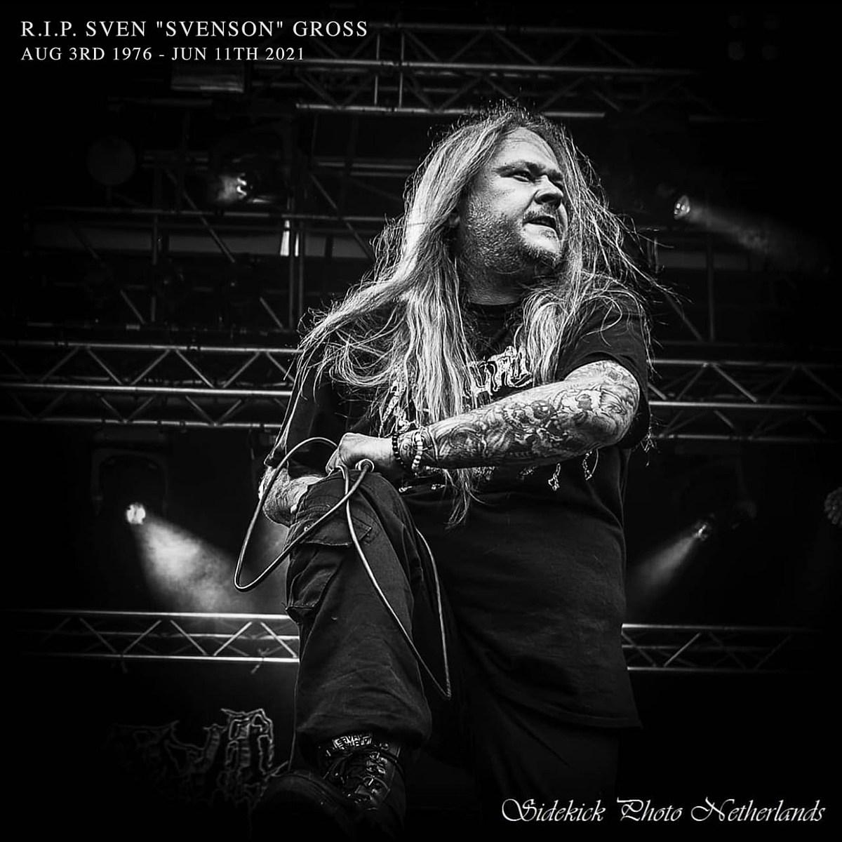 Fleshcrawl vocalist Sven Gross, RIP