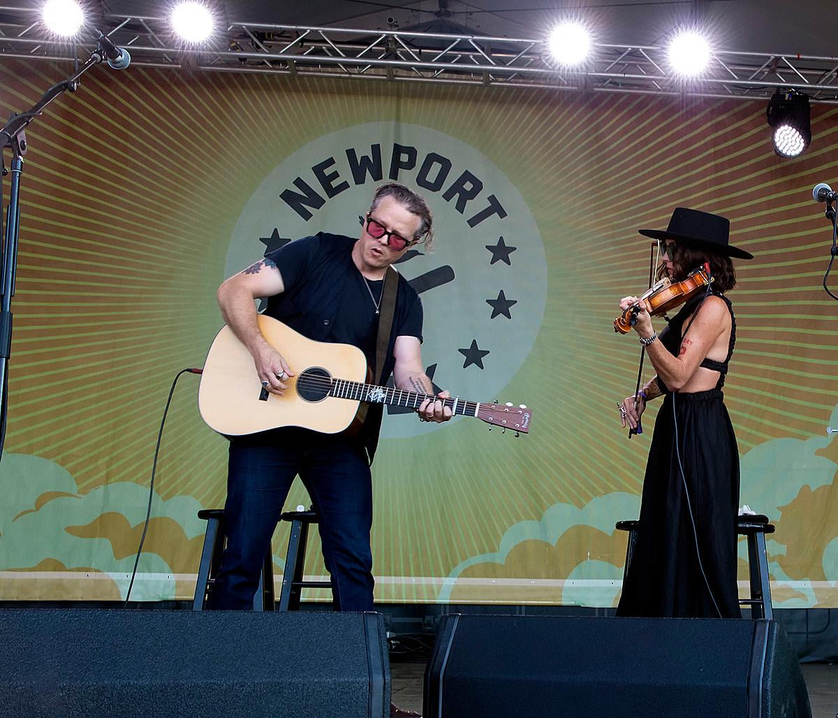 Newport Folk Festival 2021 day 2 pics & video (Jason Isbell, Randy Newman, Waxahatchee, more)