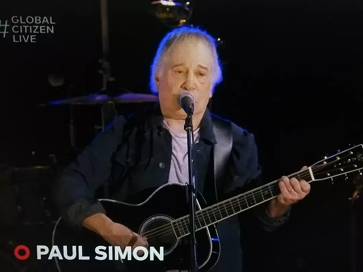 Watch Paul Simon's surprise performance at Global Citizen Fest in Central Park