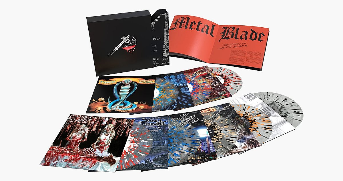 Rare GWAR, Cannibal Corpse & other Metal Blade records now available (limited splatter vinyl)