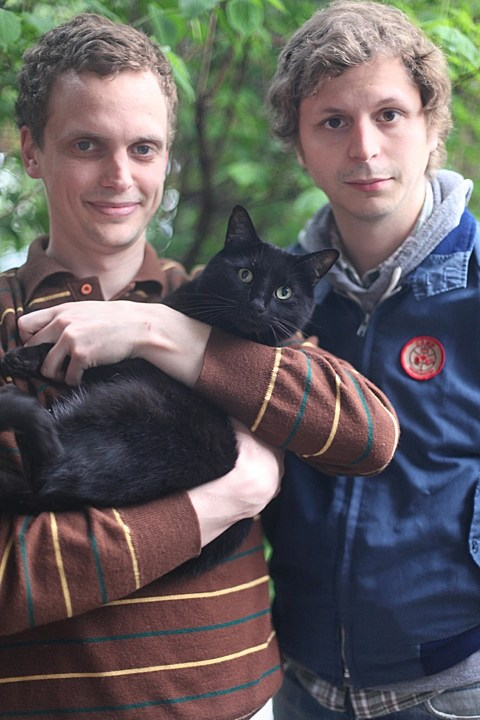 Alden Penner and Michael Cera