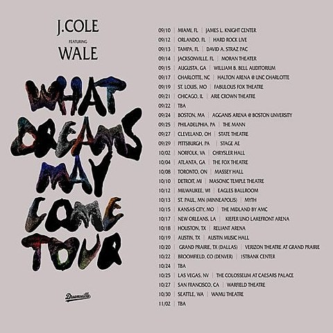 What Dreams May Come Tour