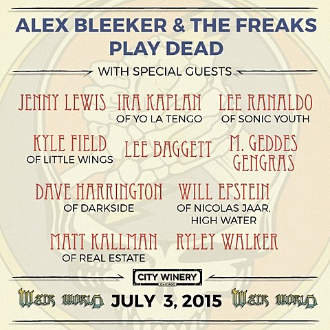 Jenny Lewis Grateful Dead Alex Bleeker