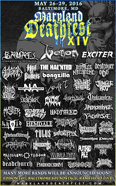 Maryland Deathfest 2016