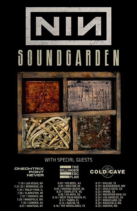 Oneohtrix Point Never The Dillinger Escape Plan Cold Cave Replace Death Grips On Nine Inch Nails Soundgarden Tour