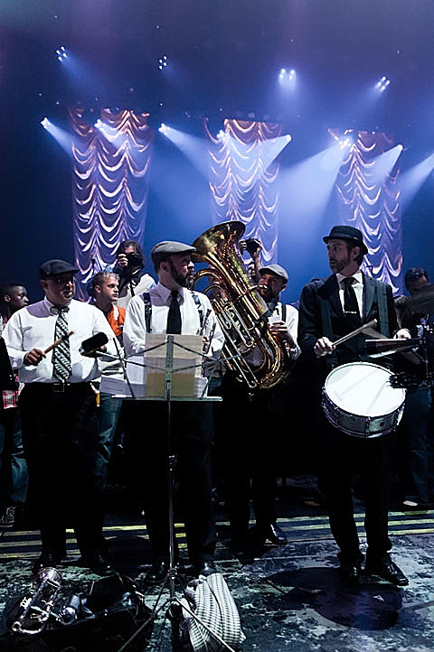 Austin Knights Brass Band @ ACL Live - 2/16/2012