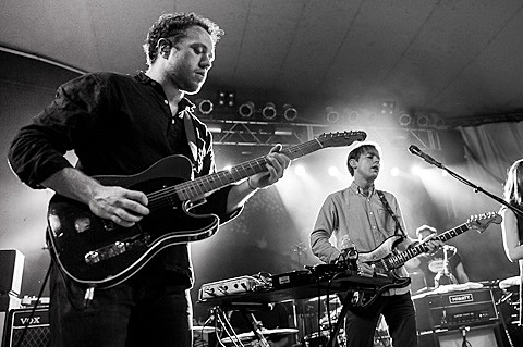 Bombay Bicycle Club @ Stubb's - 10/12/2012