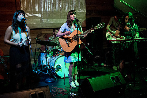 Dana Falconberry @ Mohawk - 8/10/2012