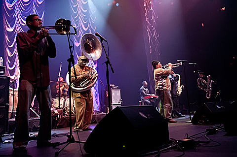 The Dirty Dozen Brass Band @ ACL - 2/16/2012