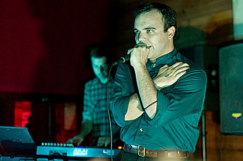 Future Islands - Mohawk - Austin - 11/22/2011