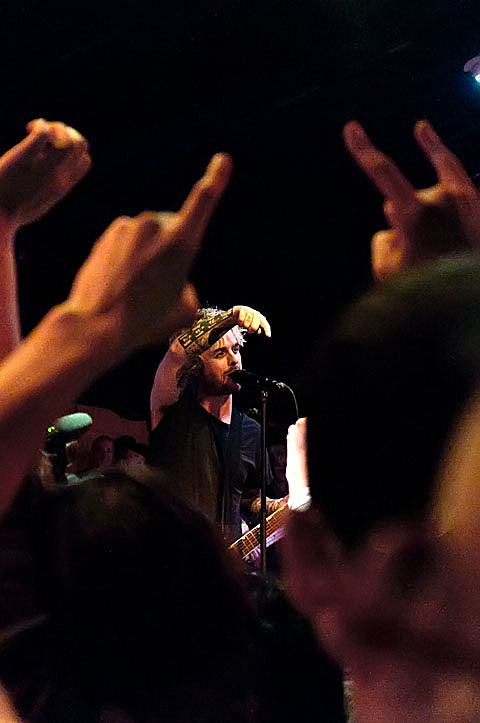 Green Day Secret Show at Red7 - Austin - 11/17/2011