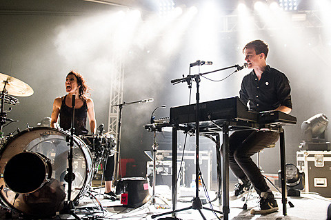 Matt and Kim @ Stubb's - 10/20/2012