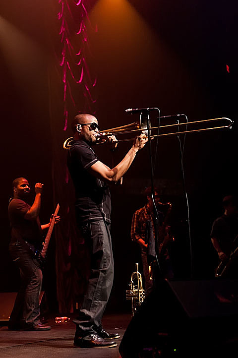 Trombone Shorty Andrews @ ACL Live on 2/16/2012