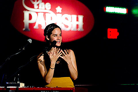 Ximena Sarinana - The Parish - Austin - 11/21/2011