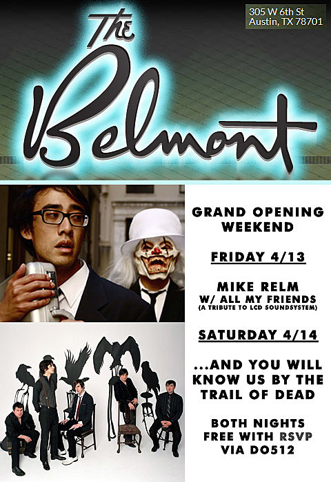 The Belmont Grand Opening Weekend