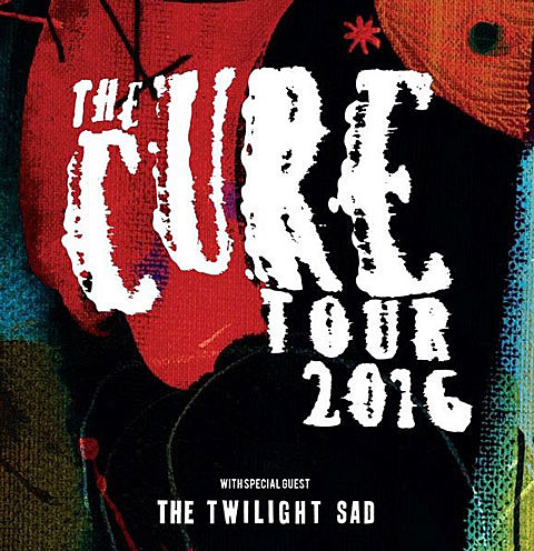 the cure touring 2016