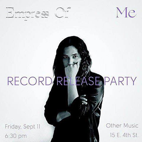 Empress Of Other Music party