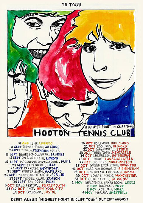 Hooton Tennis Club flyer