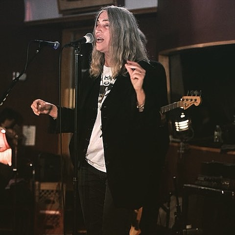 Patti Smith Performed Horses at Electric Lady Studios