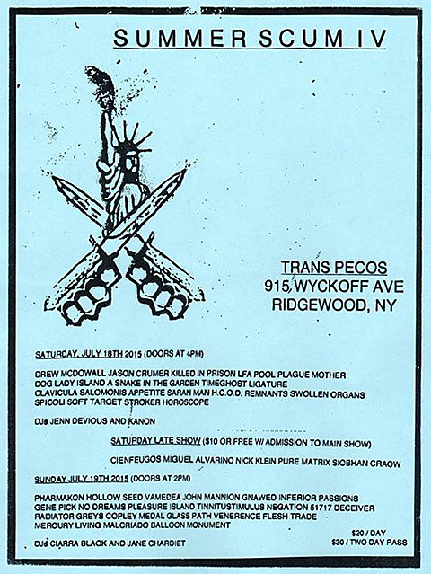 Summer Scum IV flyer
