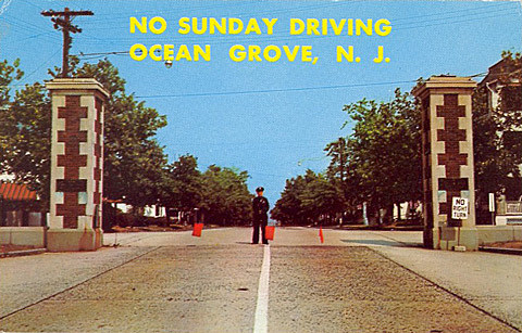 No Sunday Driving