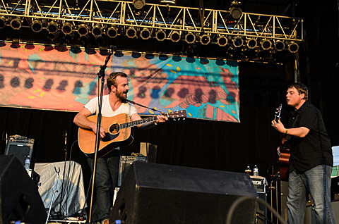 Trampled by Turtles - AV Fest 2013, Chicago - photos by Jeff Ryan - September 6th, 2013