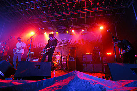 Titus Andronicus - Pier 84, NYC - August 8th, 2013 - Photos by Amanda Hatfield