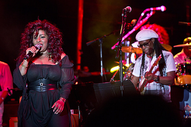 Chaka Khan with Nile Rodgers & Chic