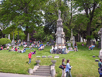 Green-wood cemetery Concert