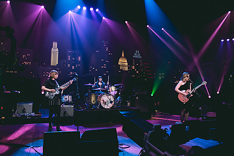 Sleater-Kinney taping for ACLTV - 4/15/2015