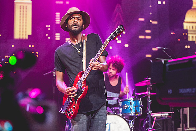 Gary Clark Jr. Taping for Austin City Limits - 8/24/2015